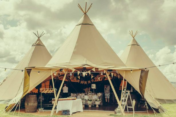 Busy Outdoor Tipi