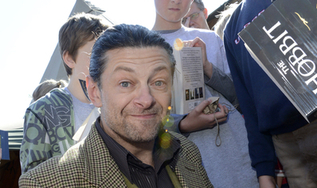 Andy Serkis - book signing