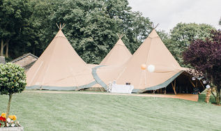 Nicole & Peter - Silverholme, Tipi Hire in the Lake District, Cumbria