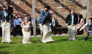 Michelle & Will - High Barn, Edenhall Estate, Tipi Hire Cumbria