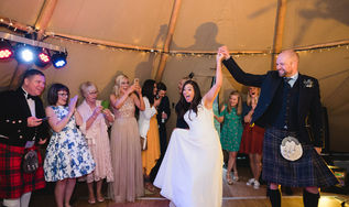 Karen & Gary - Tipi Hire in Scotland