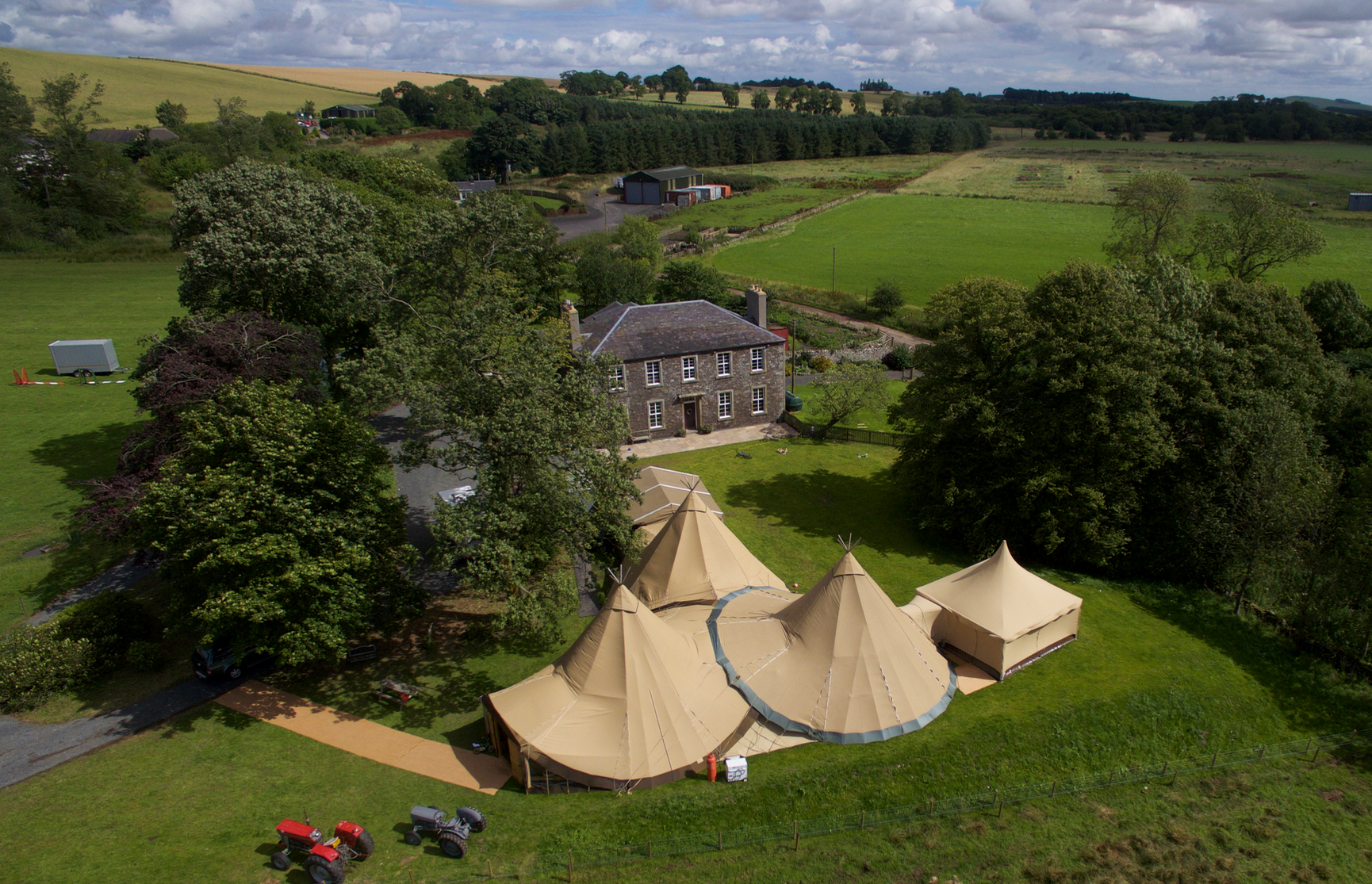 Catering Tipi Tents by Special Event Tipis - Cumbria, Northumberland, Scotland